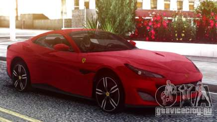 Ferrari Portofino 2018 Red для GTA San Andreas