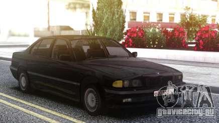 BMW 730i e38 Black для GTA San Andreas