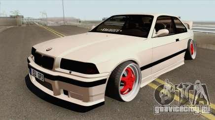 BMW E36 1998 Stance by Hazzard Garage для GTA San Andreas