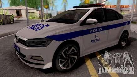 Volkswagen Polo TR Polis для GTA San Andreas