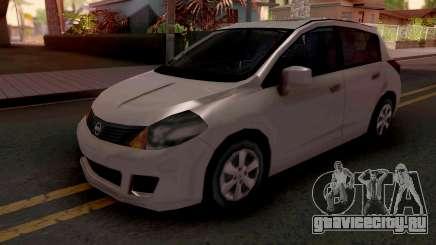 Nissan Tiida SA Style v2 для GTA San Andreas