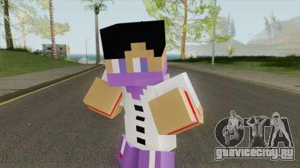 Ballas Minecraft Skin для GTA San Andreas
