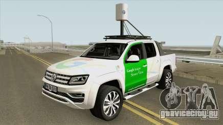 Volkswagen Amarok V6 2018 (Google Street View) для GTA San Andreas