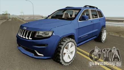 Jeep Grand Cherokee SRT 2014 (SA Style) для GTA San Andreas
