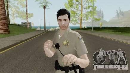 SAHP Officer Skin V1 для GTA San Andreas