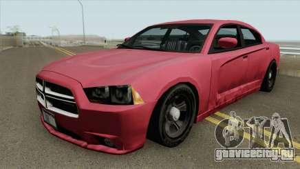 Dodge Charger 2011 (SA Style) для GTA San Andreas