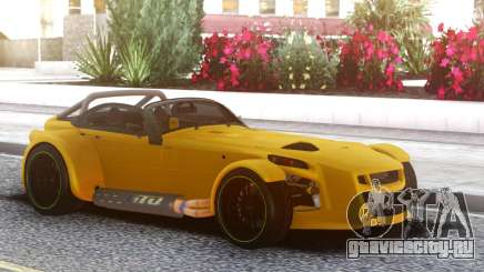 Donkervoort D8 GTO Yellow для GTA San Andreas