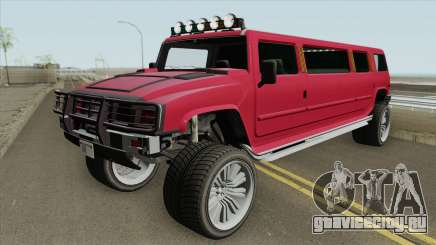 Mammoth Patriot Stretch GTA V IVF HQ для GTA San Andreas