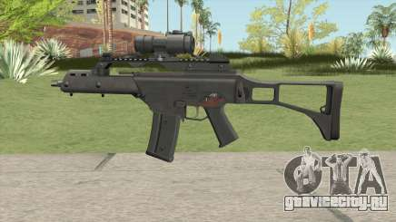 Firearm Source G36C With Aimpoint для GTA San Andreas