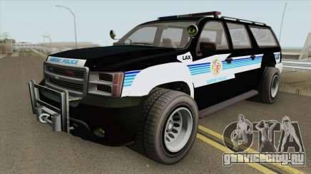 Chevrolet Suburban (LAX Airport Police) для GTA San Andreas
