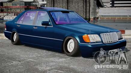 Mercedes-Benz S600 Stance для GTA 4