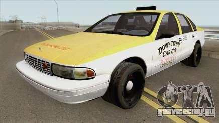 Chevrolet Caprice Taxi 1996 MQ для GTA San Andreas