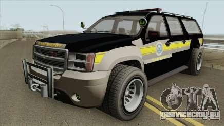 Chevrolet Suburban (Sheriff Blaine County) для GTA San Andreas