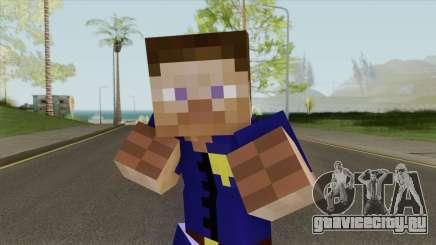 Police Minecraft Skin V1 для GTA San Andreas