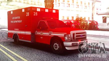 Ford F-250 Ambulance LSFD для GTA San Andreas