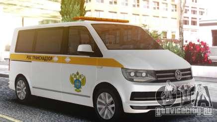 Volkswagen T5 Ространснадзор для GTA San Andreas