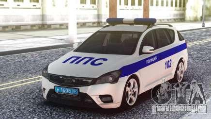 Kia Ceed Police для GTA San Andreas