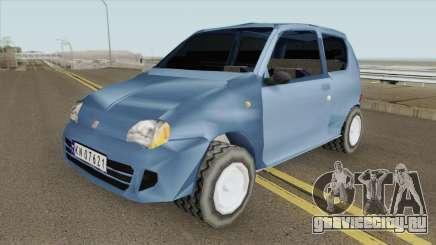 Fiat Seicento для GTA San Andreas