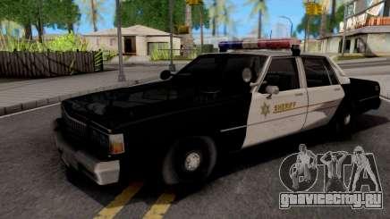 Chevrolet Caprice 1987 Las Venturas Police для GTA San Andreas