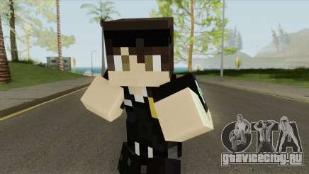Police Minecraft Skin V2 для GTA San Andreas