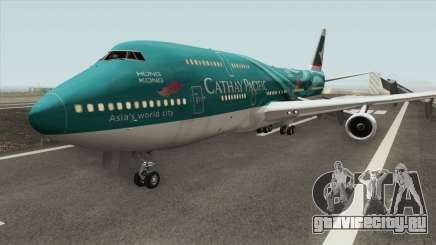 Boeing 747-400 RR RB211 (Cathay Pacific Livery) для GTA San Andreas