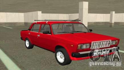ВАЗ 2107 Боевая Классика Красная для GTA San Andreas