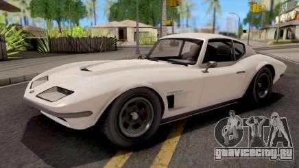 GTA V Invetero Coquette Classic Hardtop Stock для GTA San Andreas