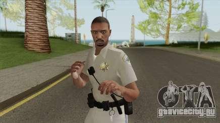 SAHP Officer Skin V3 для GTA San Andreas