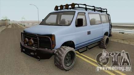 Bravado Rumpo Custom GTA V для GTA San Andreas