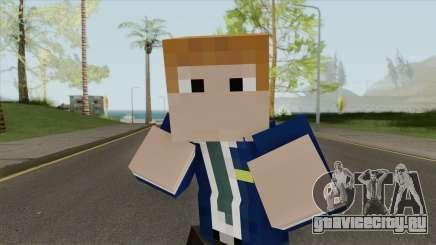 FBI Minecraft Skin для GTA San Andreas