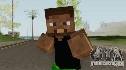 Grove Minecraft Skin для GTA San Andreas