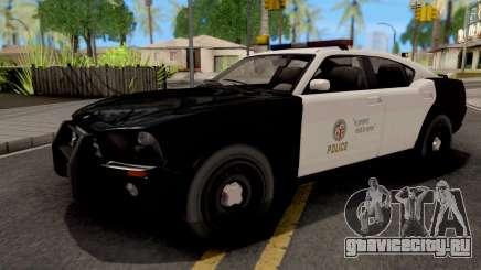 Bravado Buffalo LAPD для GTA San Andreas