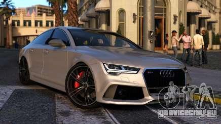 Audi RS7 Sportback 2015 для GTA 5