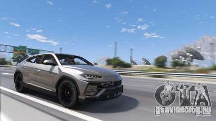 Lamborghini Urus для GTA 5