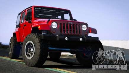 Jeep Wrangler 2012 Rubicon для GTA 5