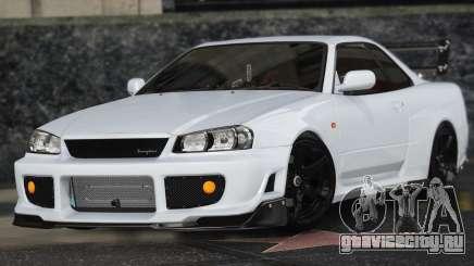 Nissan Skyline GT-R 34 для GTA 5