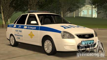 Лада 2170 ОБ ДПС ГИБДД для GTA San Andreas