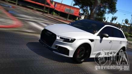 Audi RS3 Sportback 2018 для GTA 5