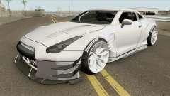 Nissan GT-R R35 Missile Drift для GTA San Andreas