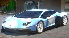 Lamborghini Aventador V2 PJ для GTA 4
