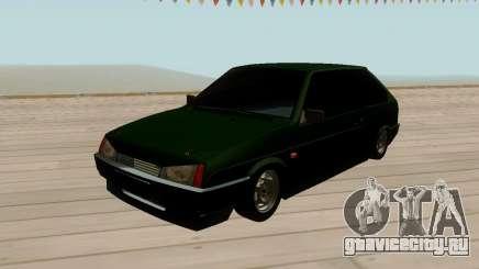 ВАЗ 2108 Зеленый с тонировкой для GTA San Andreas