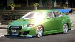 Mitsubishi Lancer X GT-R для GTA 4