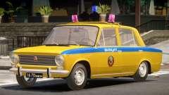 VAZ 2101 Police V1.0 для GTA 4