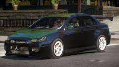 Mitsubishi Lancer X Tuned V1.1 для GTA 4