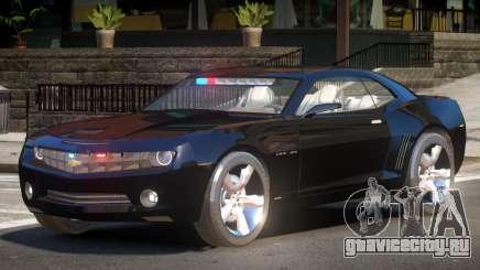 Chevrolet Camaro Police V1.1 для GTA 4