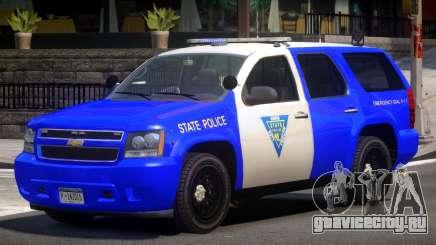 Chevrolet Tahoe Patrol V1.0 для GTA 4