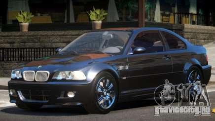 BMW M3 E46 GT для GTA 4