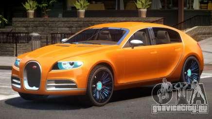 Bugatti Galibier V1.0 для GTA 4