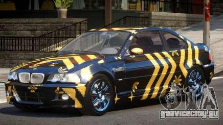 BMW M3 E46 GT PJ3 для GTA 4