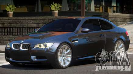 BMW M3 E92 GT для GTA 4